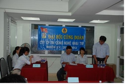 Đại hội công đoàn công ty Khai Trí năm 2011