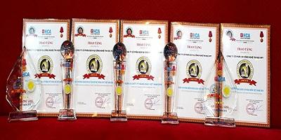 Top 5 và Huy chương vàng ICT Việt Nam 2016